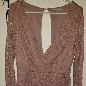 Womans dress by Charlotte russe